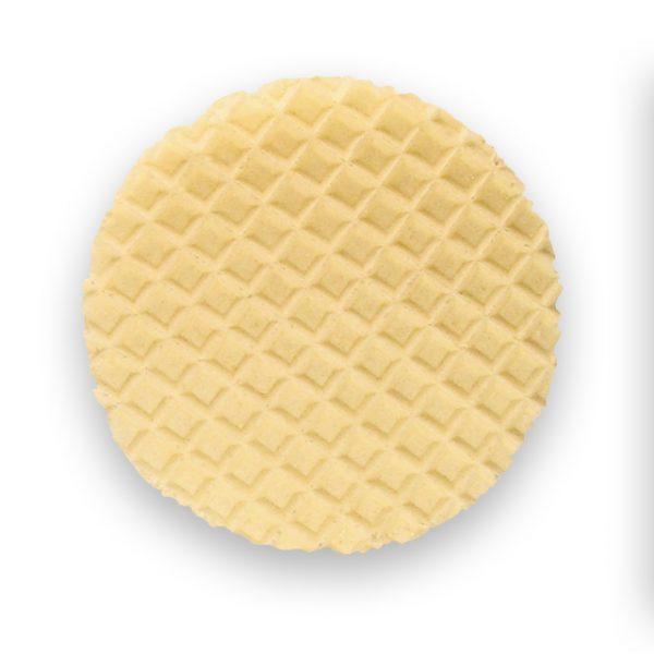 Decorwaffel-Garnierwaffel-Rundwaffel