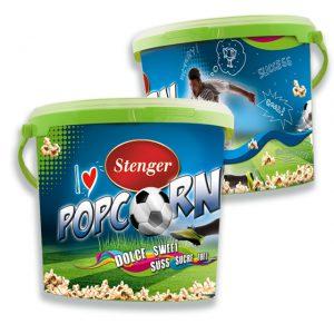 Stenger-Popcorn-Eimer-Fussball