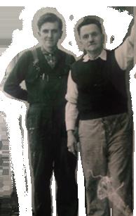 Alfred Stenger und Sohn Peter